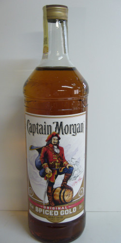 Captain Morgan rum 3L 1890,-