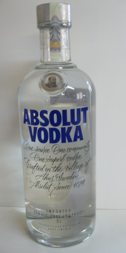 Absolut vodka 3L 1750,-
